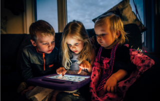 Pre-school kids and internet use
