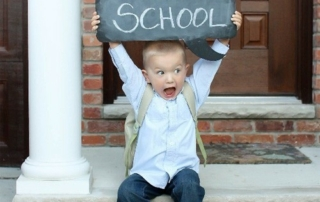 First day a school - a new year comes with lots of emotions. Lifestart on how to get through the first week!